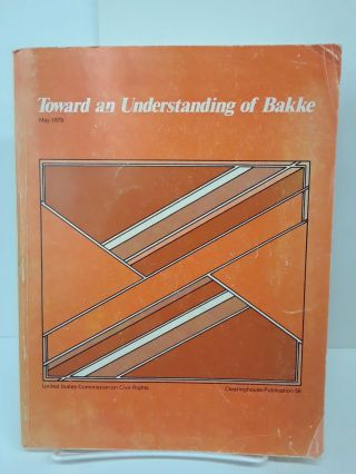 Toward an Understanding of Bakke. Arthur Flemming