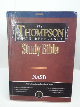 The Thompson Chain-Reference Study Bible