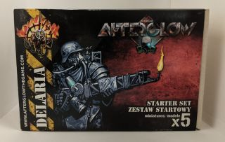Afterglow Miniatures Game Starter Set- Delaria