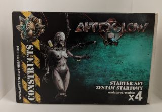 Afterglow Miniatures Game Stater Set- Constructs