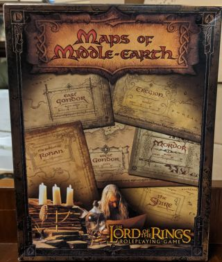Maps of Middle Earth: The Lord of the Rings Map Set