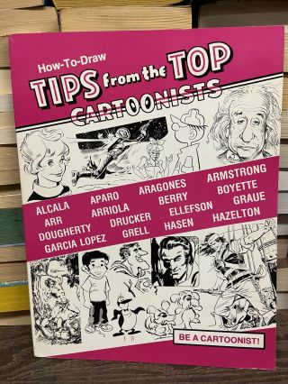 How-To-Draw: Tips from the Top Cartoonists