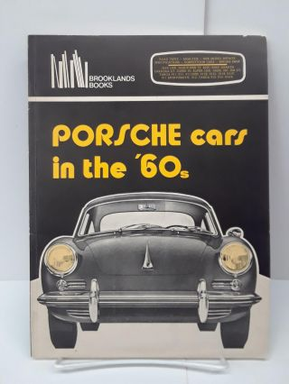Porsche Cars in the 60's