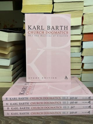 Church Dogmatics, Volume III: The Doctrine of Creation (Volumes 13-17). Karl Barth