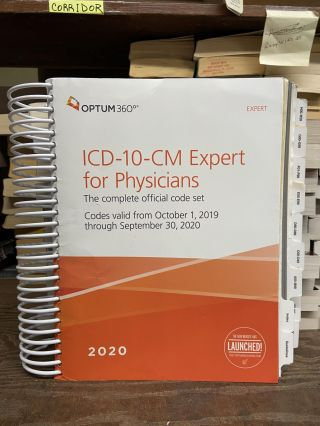 2020 ICD-10-CM Expert for Physicians