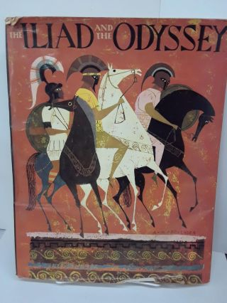 The Iliad and the Odyssey: The Heroic Story Of The Trojan War. Jane Watson
