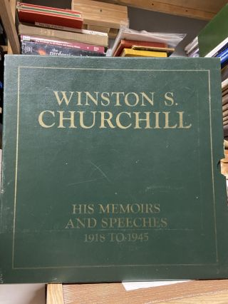Winston Churchill- His Memoirs and Speeches 1918-1945