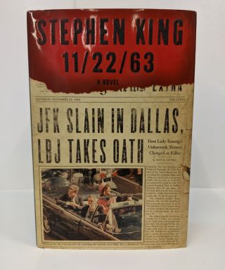 11/22/63: A Novel. Stephen King
