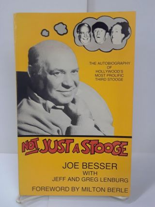 Not Just a Stooge. Joe Besser
