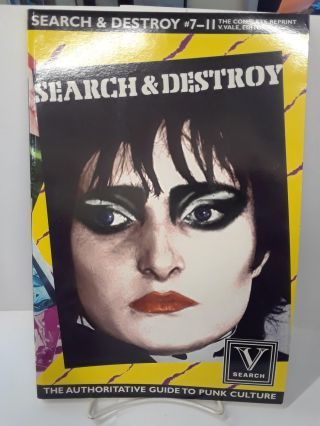 Search & Destroy #7-11: The Complete Reprint. V. Vale