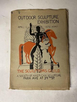 Outdoor Sculpture Exhibition, April 12 Into May. The Sculptors Guild