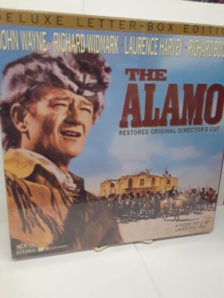 The Alamo - Deluxe Letter-Box Edition