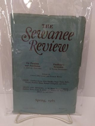 The Sewanee Review: Spring 1965. Cormac McCarthy