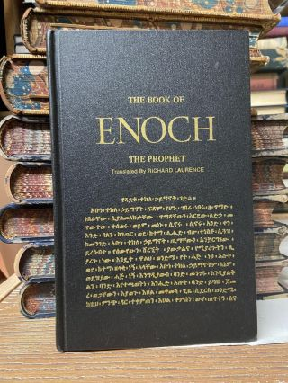 The Book of Enoch, the Prophet. Richard Laurence, Translated