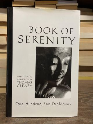 Book of Serenity. Thomas Cleary, edited