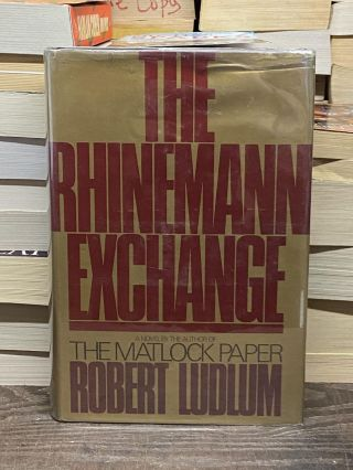 The Rhinemann Exchange. Robert Ludlum