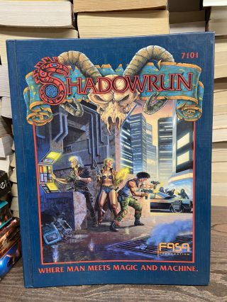Shadowrun: A New Universe from the Creators of Battletech