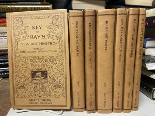 Ray's New Arithmetics (7-volume set