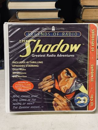 The Shadow: Greatest Radio Adventures (Legends of Radio