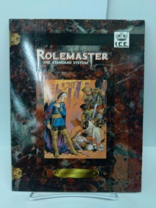 Rolemaster Game Master Screen: The Standard System