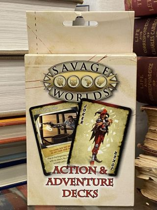 Action & Adventure Decks (Savage Worlds
