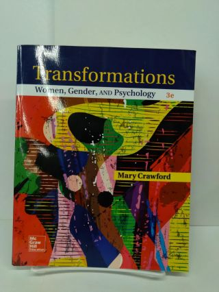 Transformations: Women, Gender and Psychology. Mary Crawford