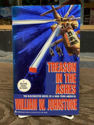 Treason in the Ashes. William W. Johnstone