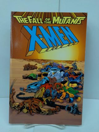 X-Men: The Fall of the Mutants. Chris Claremont