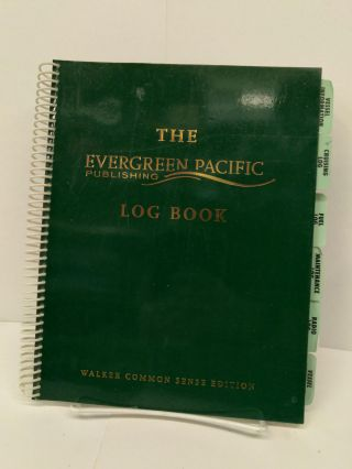 The Evergreen Pacific Publishing Log Book