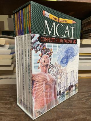 Examkrackers MCAT Study Package (10th edition). Jonathan Orsay