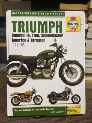 Triumph Bonneville T100, Speedmaster, America and Thruxton: Service and Repair Manual. Matthew...