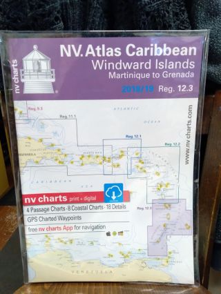 NV. Charts Reg. 12.3: Windward Islands Martinique to Grenada