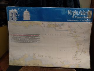 Maptech Chart Kit: Virgin Islands, St. Thomas to Sombrero
