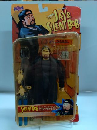 Big Blast View Askew Jay And Silent Bob Talking SILENT BOB Action Figure