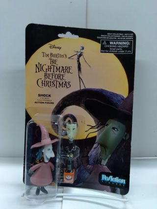 Tim Burton's The Nightmare Before Christmas ReAction Shock Action Figure