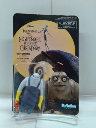 Tim Burton's The Nightmare Before Christmas ReAction Behemoth Action Figure