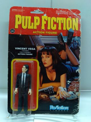 Pulp Fiction Vincent Vega Action Figure