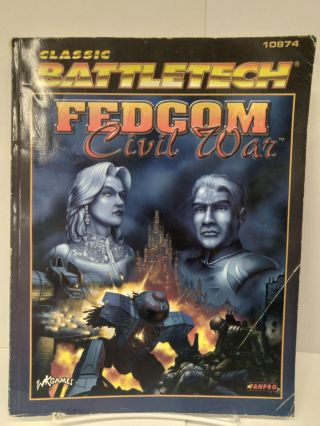 Classic Battletech: Fedcom Civil War