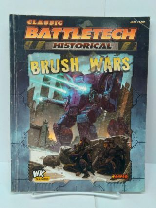 Classic Battletech: Historical Brush Wars