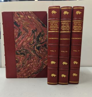 History of the English Speaking Peoples (4 Volume Set). Winston Churchill