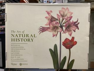 The Art of Natural History: Botanical Illustrations, Ornithological Drawings, and Other...