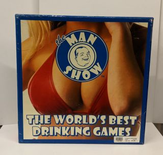 The Man Show: The Worlds Best Drinking Games, Adult Board Game