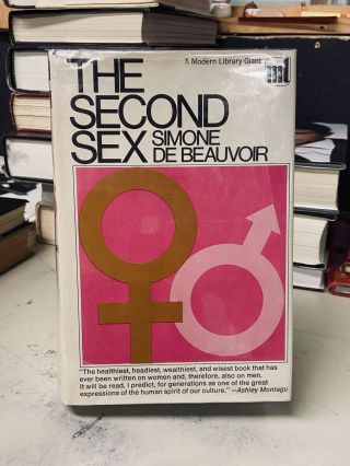 The Second Sex. edited, trans, Simone De Beauvoir, H. M. Parshley