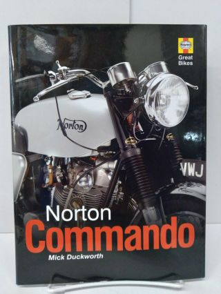 Norton Commando. Mick Duckworth