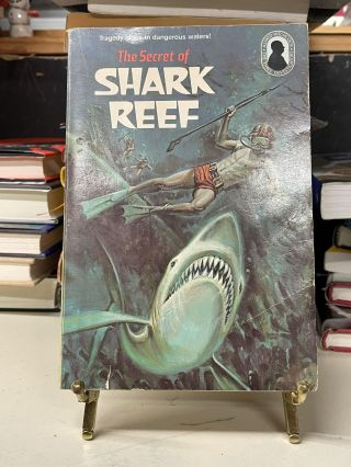 The Secret of Shark Reef (The Three Investigators No. 30). William Arden