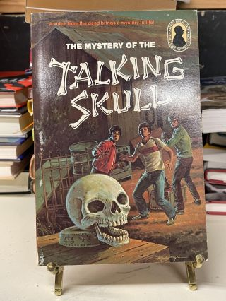 The Mystery of the Talking Skull (The Three Investigators No.11). Robert Arthur