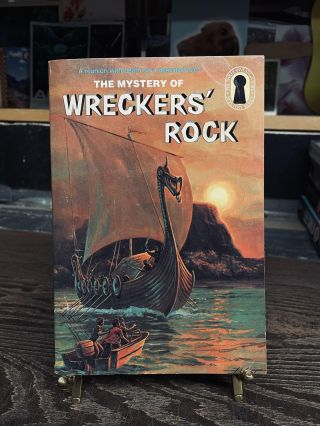The Mystery of Wreckers' Rock (The Three Investigators, No. 42). William Arden