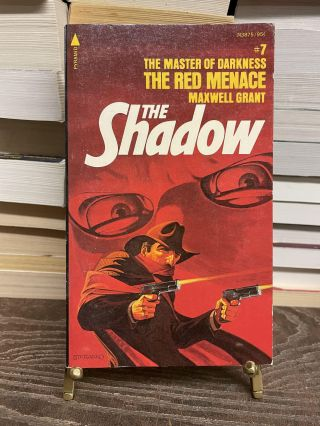 The Red Menace (The Shadow, No.7). Maxwell Grant