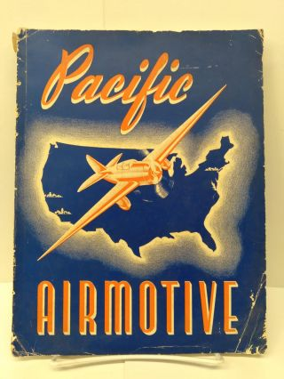 Pacific Airmotive: Catalog M - Airplane Parts, Supplies, Materials, Accessories, Maintenance