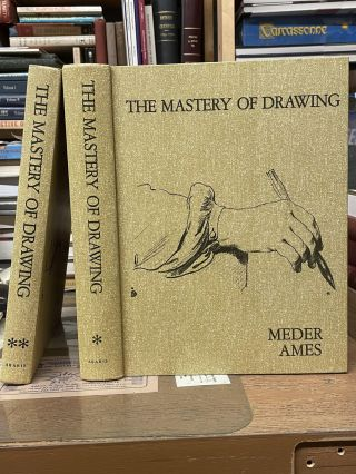 The Mastery of Drawing (Two Volume Set). Meder Ames